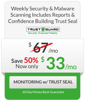 FPP Squeeze - $33/month Monitoring with Trust Seal