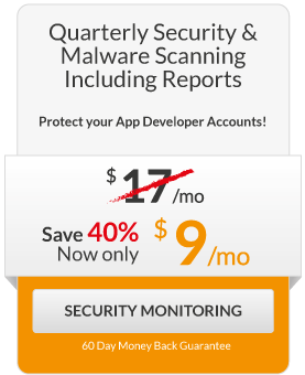 FPP Squeeze - Quarterly Scanning Includes Report - $9/month Security Monitoring