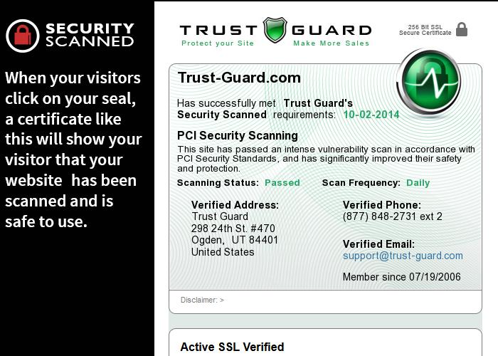 Online security is your website visitors' biggest concern